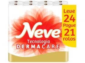 Papel Higiênico Folha Dupla Neve – Toque de Seda 30209802 24 Rolos 30m (cód. 215282300)