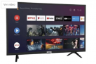 """Smart TV LED 32"""" SEMP TCL 32S6500 Android Wi-Fi – HDR Inteligência Artificial 2 HDMI USB"""