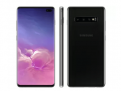 "Smartphone Samsung Galaxy S10+ 128GB Ceramic Black – Octa-Core 8GB RAM 6,4"" Câm. Tripla + Selfie Dupla"