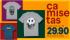 [RIACHUELO] Camisetas masculinas à partir de 29,90 + cupom RCHLO632059 (10% desc + frete grátis)