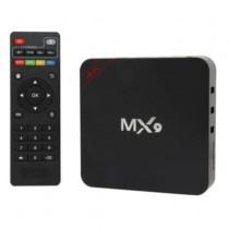 Smart TV Box JLY Android 7.1 MX9 4K Preto