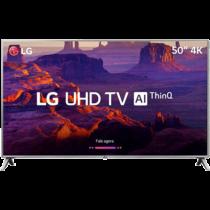 Smart TV LED 50″ LG 50UK6510 Ultra HD 4k com Conversor Digital 4 HDMI 2 USB Wi-Fi ThinQ AI WebOS 4.0 60Hz Inteligencia Artificial – Prata (Cód.133718358)