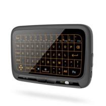 Teclado Touchpad Mini Sem Fio Com Função De Luz De Fundo H18 + (Cód. 50040975)