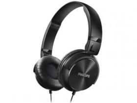 Headphone/Fone de Ouvido Philips Dobrável – SHL3060 Preto
