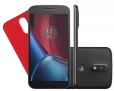 """Ótimo no cartão Sub!!! Smartphone Motorola Moto G4 Plus Dual Chip Android 6.0 Tela 5.5"""" 32GB Câmera 16MP – Preto"""