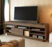 Rack para TV até 47″ 1 Porta de Correr – 2 Prateleiras Artely Treviso