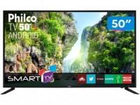 Smart TV LED 50″ Philco PTV50D60SA FULL HD Conversor Digital Integrado 2 HDMI 2 USB Wi-Fi
