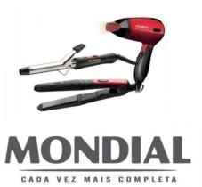 Kit Super Bonita KT-53 Mondial (Chapinha + Escova Modeladora + Secador)