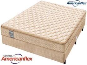 Cama Box Casal (Box + Colchão) Americanflex Mola – 62cm de Altura Wind