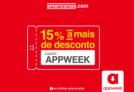 AppWeek Lojas Americanas: 15% a mais de desconto em produtos selecionados