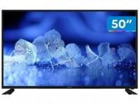 "*Smart TV 4K DLED 50"" Cobia Wi-Fi – Conversor Digital 3 HDMI 2 USB*"