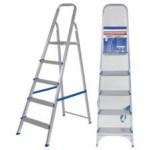 Escada 5 Degraus Alumínio Mor – 5103