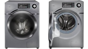 Lava e Seca Midea 12Kg Prata Acqua – 16 Programas de Lavagem Água Quente 110 Volts