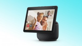 Smart Speaker Amazon Echo Show 10 com Display HD de 10,1″ e Alexa – Preta