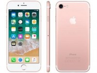"iPhone 7 Apple 32GB Ouro Rosa 4G Tela 4.7"" Retina – Câm. 12MP + Selfie 7MP iOS 11 Proc. Chip A10"