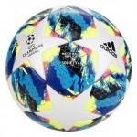Bola de Futebol Society Adidas Uefa Champions League Finale 19 Match Ball Replique Branco+Azul – Único