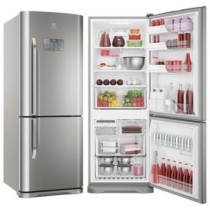 Refrigerador Bottom Freezer Electrolux de 02 Portas Frost Free com 454 Litros Painel Eletrônico Inox – DB53X – EXDB53X