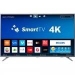 Smart TV LED 58 Philips 58PUG6513/78 Ultra Slim Ultra HD 4k Wi-fi 3 HDMI 2 USB