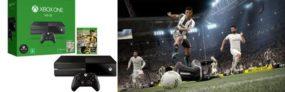 Console Xbox One 500GB Microsoft 1 Controle – Jogo Fifa 17 + 1 Mês de EA Access Bivolt