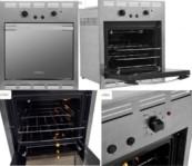 Forno de Embutir a Gás Venax Cristallo EG GII – Inox 50L Grill Timer 110 ou 220 Volts
